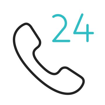 24/7 Kundenservice