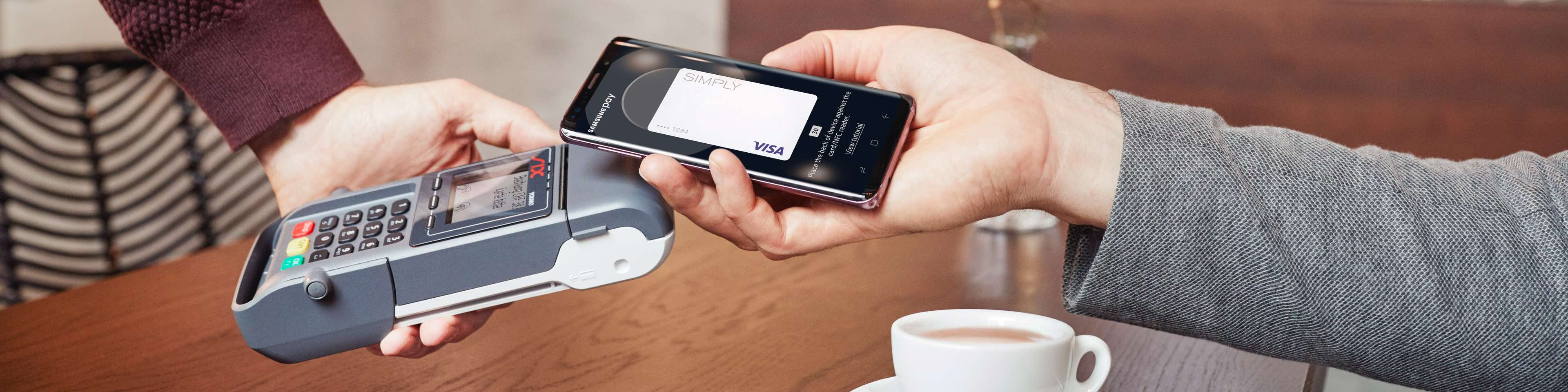 Samsung Pay Zahlsituation